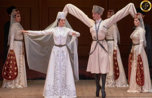 Яркая личность из Южной Осетии: солист госансамбля «Алан» Сослан Мамиев