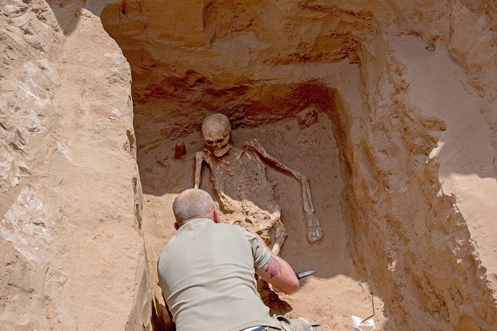 Под Астраханью нашли золотой клад сарматского вождя