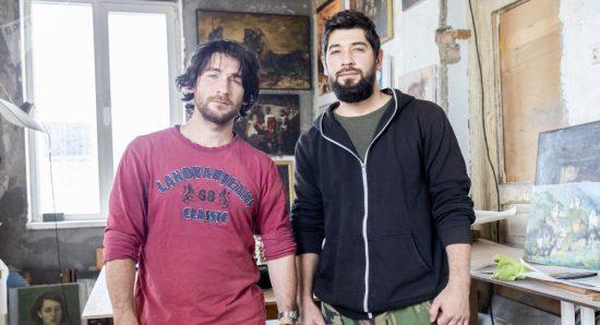 Братья-художники из Цхинвала о живописи, жизненном выборе и разрушенном доме