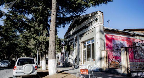 В Цхинвале восстановят выставочный зал Союза художников
