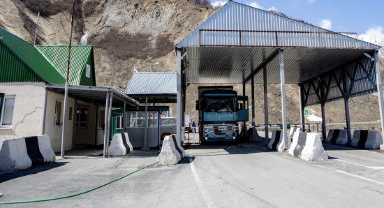 Ограничения на пересение границы Южной Осетии с Россией продлили еще на месяц